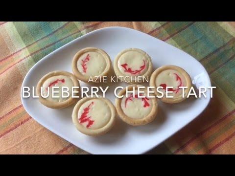 Blueberry Cheese Tart Yang Sangat Sedap By Azie Kitchen