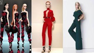 Barbie elbise yapımı | 5 dakikada hallet | DIY | Kendin yap | Barbie tulum nasıl yapılır ?