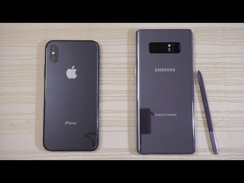 Thumbnail: iPhone X vs Galaxy Note 8 - Speed Test! Which one is BEAST?! (4K)