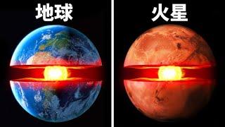 もし地球が半分に割れ、あなたが中心に引っ張られたらどうなる?
