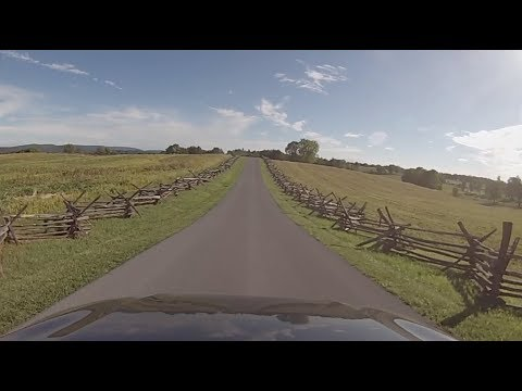 Antietam National Battlefield, Maryland - Driving Trough Antietam National Battlefield HD (2017)