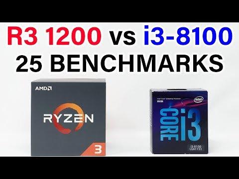 Intel i3-8100 vs Ryzen 3 1200 - Which Should You Buy?