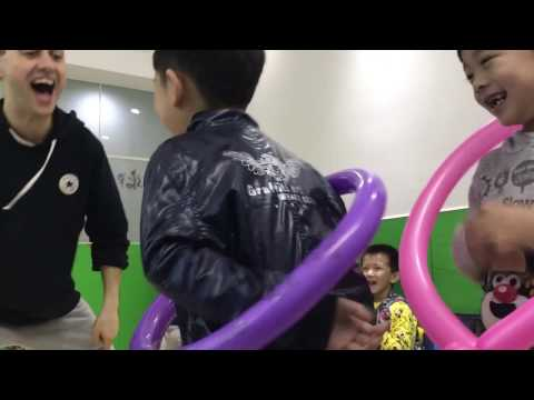 ESL Class: Magic Tricks and Balloon Catch