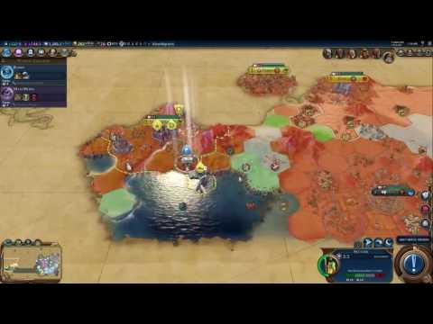 Civilization VI(King) - Greece(Pericles) - Democracy! - Part 8