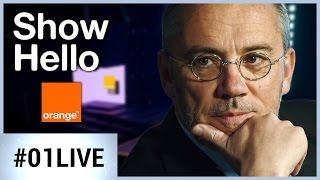 Show Hello 2017 : Stéphane Richard sur le plateau de 01netTV