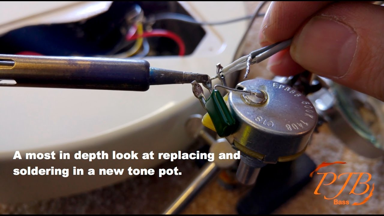 Guitar Or Bass Tone Volume Blend Pot Replacement Youtube Control Circuit On Wiring Without