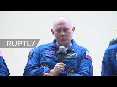 Kazakhstan: Russian cosmonauts to take World Cup football to Space Station
