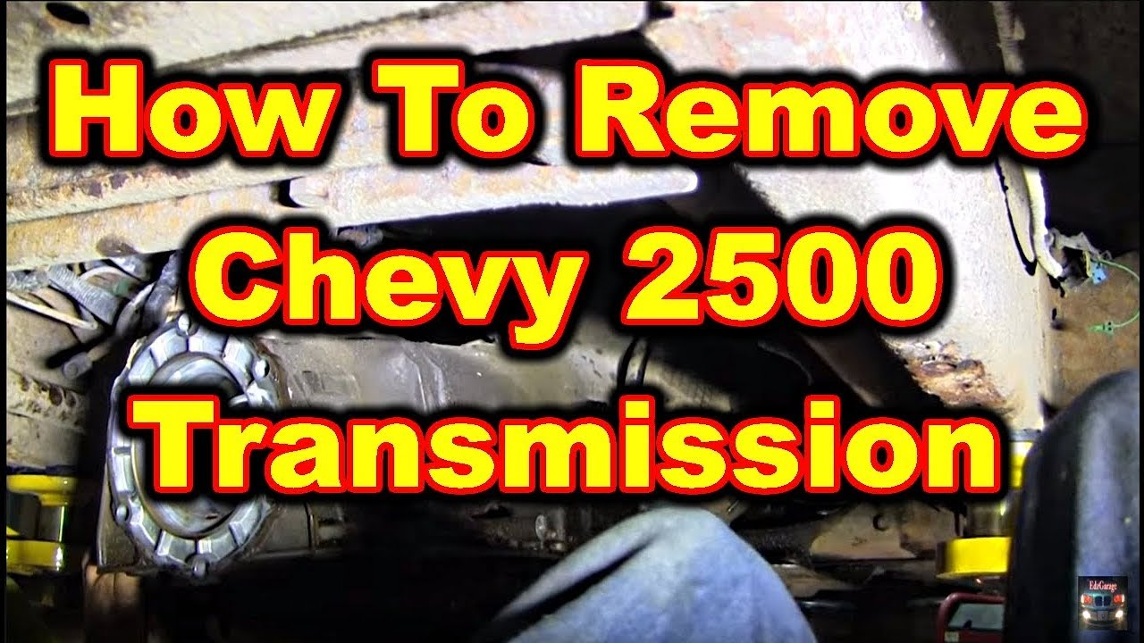 small resolution of transmission removal chevy 2500