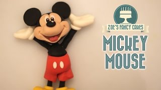 Mickey mouse cake topper tutorial
