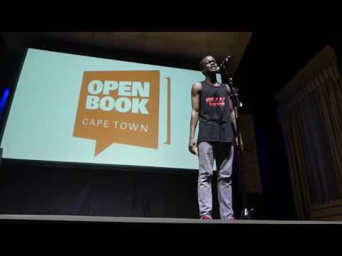 Poet,  Open Book Poetry Slam, 2016, Cape Town, South Africa