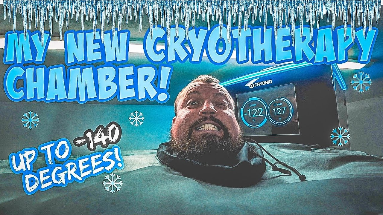 My new recovery chamber | -140•C