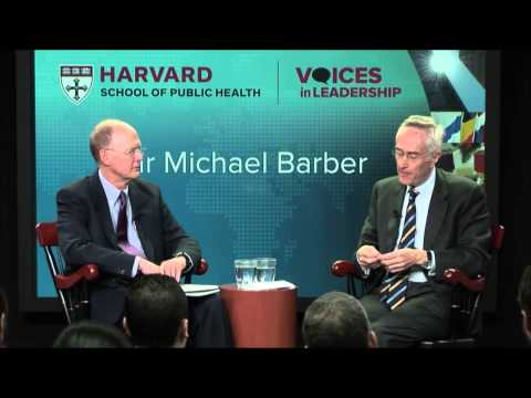 Leading to Deliver for Successful Government | Sir Michael Barber | Voices in Leadership