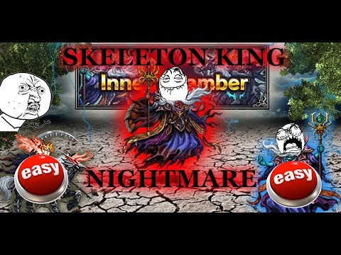 [FFBE] Inner Chamber - Nightmare The Skeleton King [ GUIDE ] 5 - Man Clear