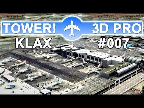 ✈TOWER!3D PRO • LOS ANGELES (KLAX) • Heavy TRAFFIC JAM • #007✈