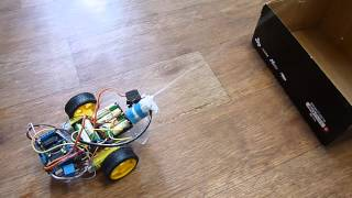 Water cannon arduino robot