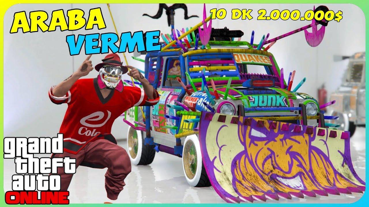 GTA 5 Online - 10 Dakikada 2.000.000$ Para Kasma Arkadaşa Araba Verme