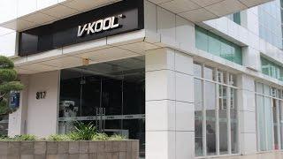 Visiting V-Kool Flagship Outlet in Kemayoran, Jakarta