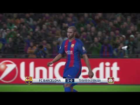 Last 16, Match 8, 2nd Leg : FC Barcelona (1) Vs Bayer Leverkusen (1)