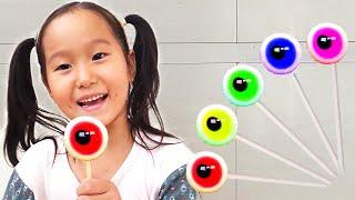 Finger Family Color Song Eyeball By LoveStar | Nursery rhymes & Kids song