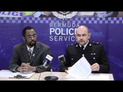 Supt. Martin Weeks Holiday Policing Bermuda December 30 2011