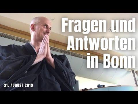 Fragen und Antworten beim Zazentag in Bonn am 31. August 2019