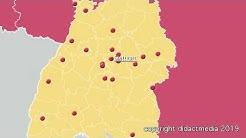 Baden-Württemberg: Bezirke, Kreise und Städte – Regionen in Deutschland – Baden-Württemberg