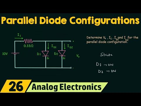 Parallel Diode Configurations - YouTube