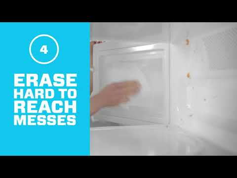 Magic Eraser Sheets - How To Clean Dirty Microwaves | Mr. Clean®
