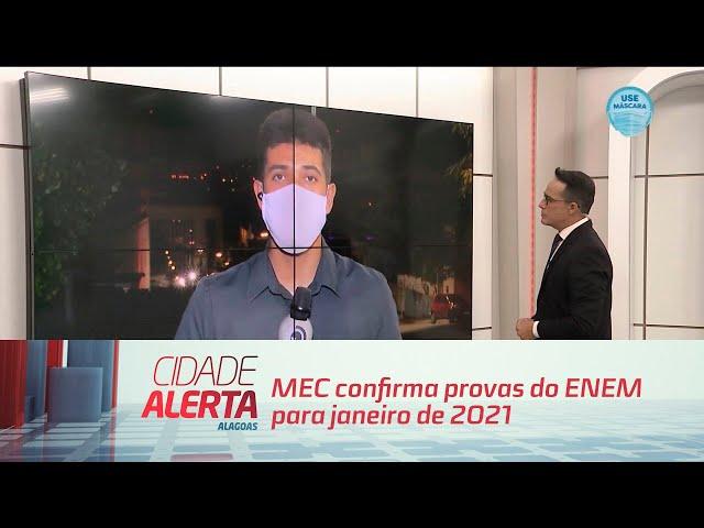 MEC confirma provas do ENEM para janeiro de 2021