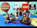 Soldiers Fort 70412 LEGO Pirates - Stop Motion Review