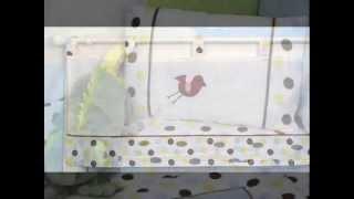 Noah Ark Baby Crib Nursery Bedding 13 Pcs Included Diaper ; Baby Crib Mattress