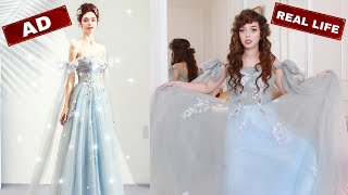 Trying on CHEAP Princess Ballgowns From YesStyle | Did I Waste My Money?