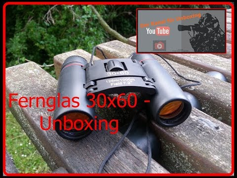 Fernglas 30x60 unboxing youtube