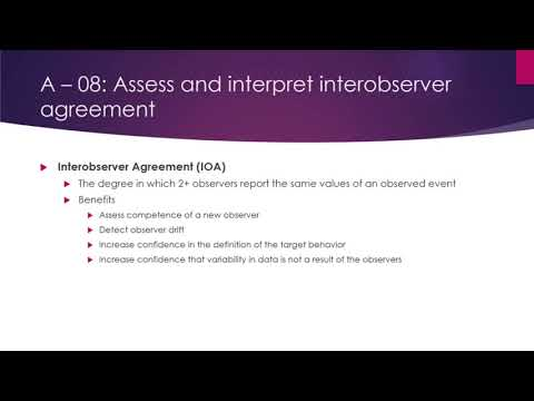 A 08 Interobserver Agreement Youtube