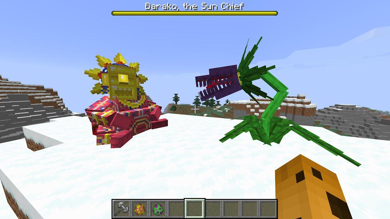 Mowzies Mobs MOD in Minecraft