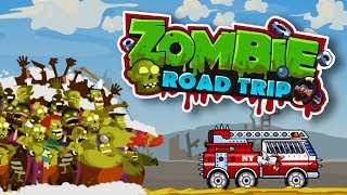 THIS GAME IS THE BEST! | ZOMBIE ROAD TRIP screenshot 3