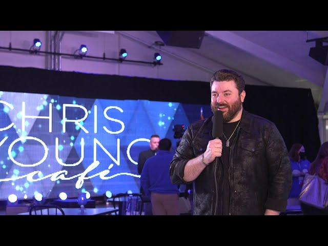 Chris Young Cafe Ribbon-Cutting Recap | January 27, 2021