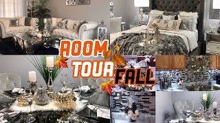 glam and girly room tour