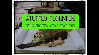 STUFFED FLOUNDER(catch and cook!!!)