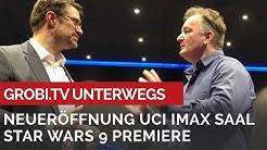 Neueröffnung IMAX Saal mit STAR WARS 9 Premiere im UCI Düsseldorf