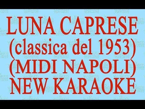 Luna caprese - midi Napoli - New Karaoke