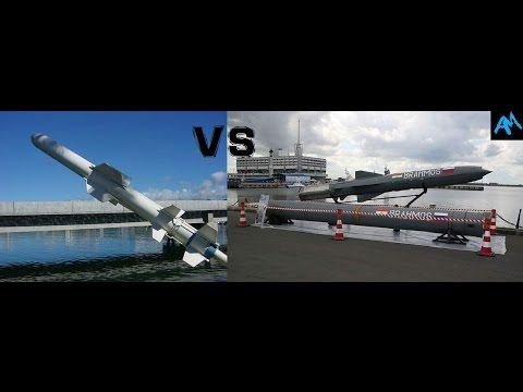 Harpoon Anti ship Missile VS Brahmos Anti ship Supersonic Cr