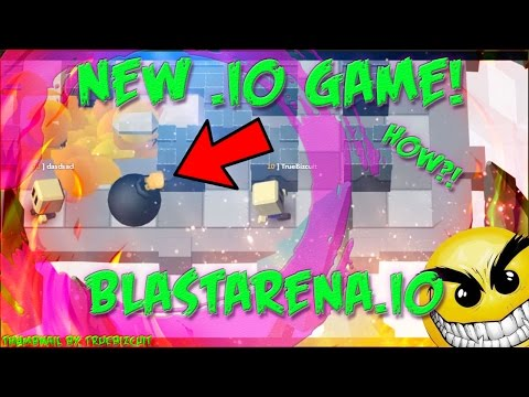 NEW IO GAME: BLASTARENA.IO [Free Web 3D Game] Game like mope.io, braains.io, and agar.io