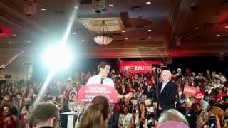 Justin Trudeau Liberal Rally Peel Region Aug 25,15