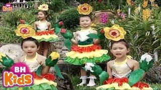 Những Bông Hoa Đẹp ♫ Nhạc Thiếu Nhi Vui Nhộn Cho Bé