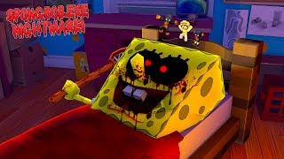 Minecraft SPONGEBOB.EXE - JUMPING INTO SPONGEBOBS NIGHTMARE IS REALLY SCARY!!