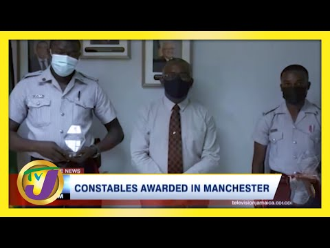Constables Awarded Medal for Delivering Baby   TVJ News