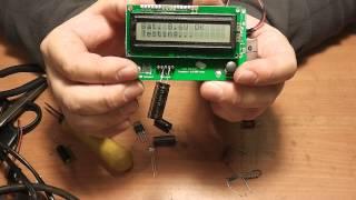 Китайский прибор для измерения ESR электролитических конденсаторов - Обзор(Китайский прибор для измерения ESR электролитических конденсаторов и не только - Обзор (Transistor Tester Capacitor ESR..., 2014-01-15T20:31:54.000Z)