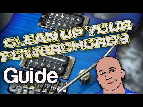 Clean up Your Power Chords-Guitar Lesson-How to Play-Tutorial-Easy