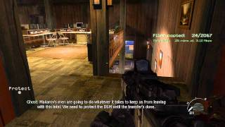 'Loose Ends' Call of Duty Modern Warfare 2 Veteran Walkthrough